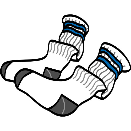 picture of socks coloring pages - photo#39